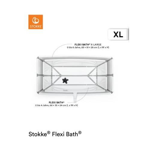 FLEXI BATH XL WHITE STOKKE STOKKE