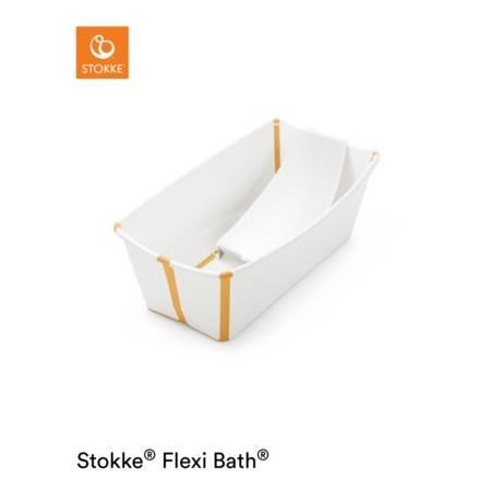FLEXI BATH + HAMACA BLANCO AMARILLO STOKKE STOKKE