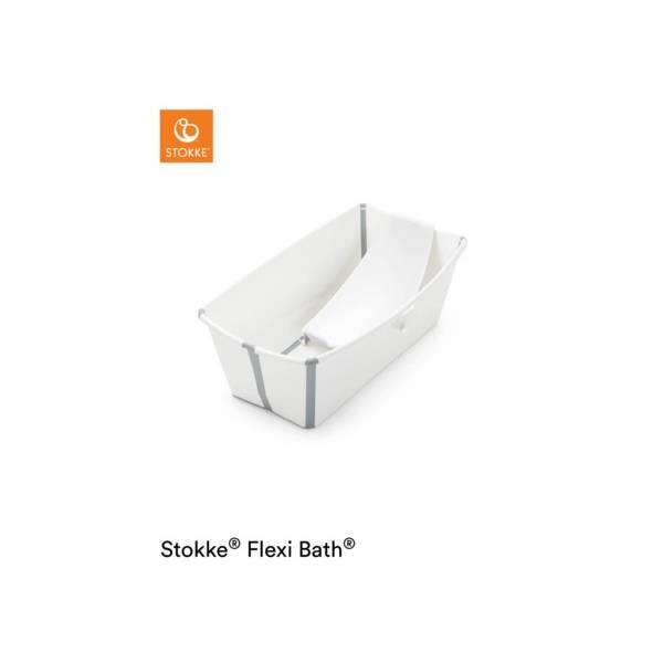 FLEXI BATH + HAMACA BLANCO GRIS STOKKE STOKKE