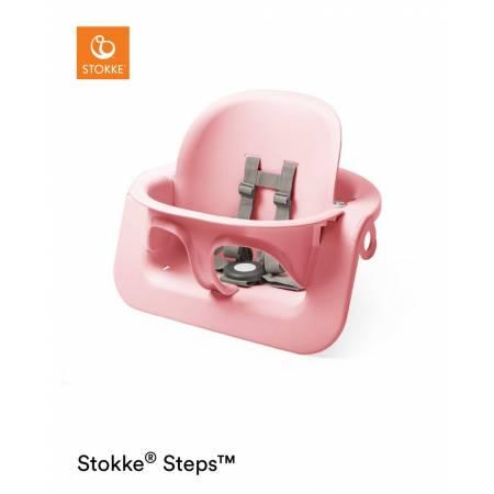 BABYSET STEPS PINK STOKKE