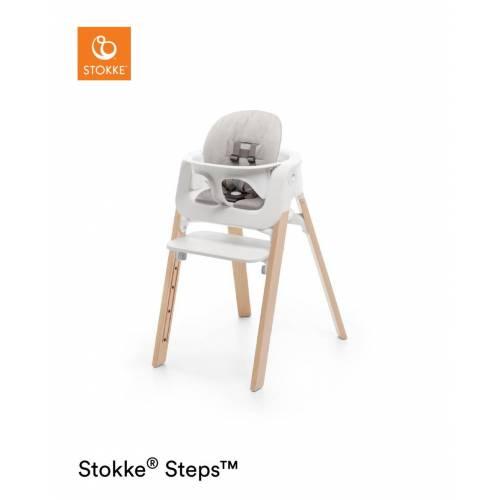 STEPS BABY SET CUSHION TIMELESS GRIS STOKKE STOKKE