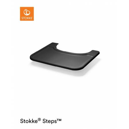 STEPS TRAY BABY SET BLACK STOKKE