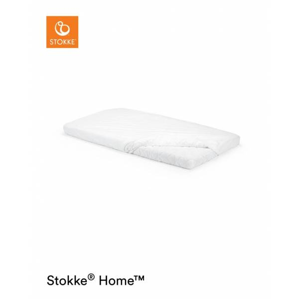 STOKKE HOME BED  FITTED SHEET WHITE STOKKE