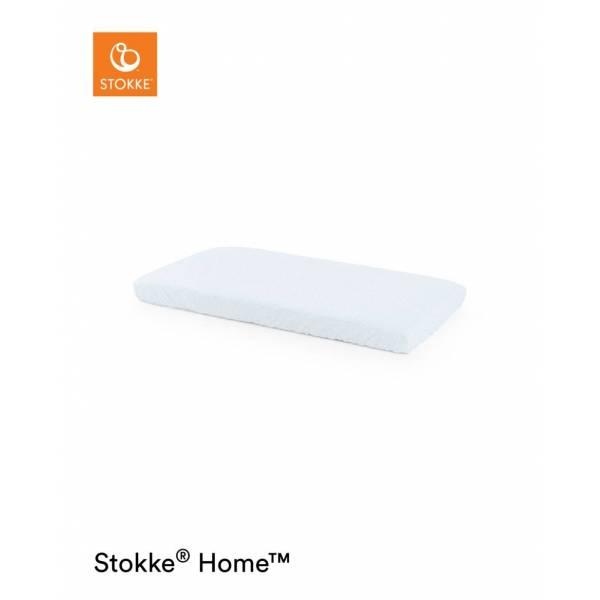 STOKKE HOME BED FIT SHEET BLUE SEA STOKKE