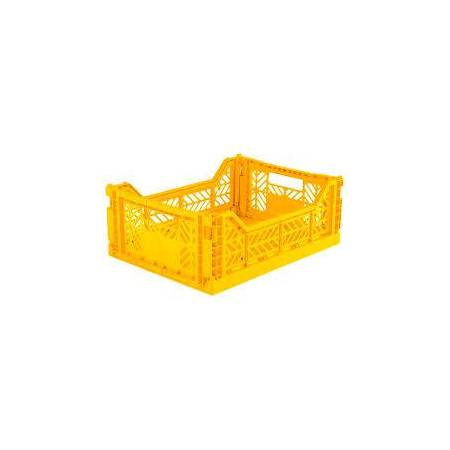 CAJA PLEGABLE LILLEMOR MEDIANA YELLOW TUTETE