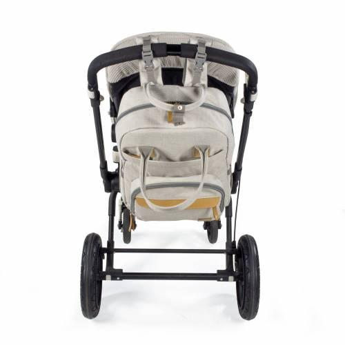 MOCHILA SILLA BABY NATURE SAND WALKING MUM