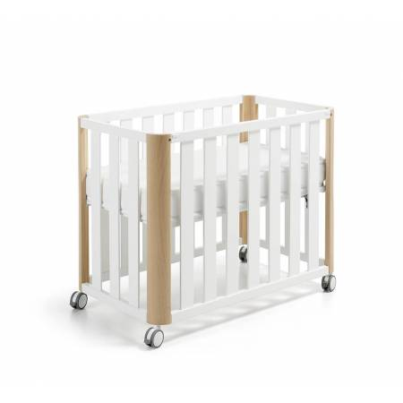 MINICUNA DOCO SLEPPING 90X50 BLANCO/NATURAL COTINFANT
